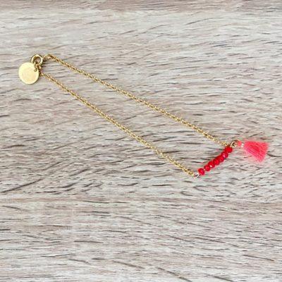 Bracelet-manapany-rouge