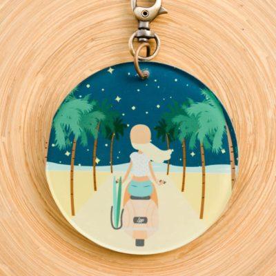 la-petite-plagiste-accessoires-portes-clés-road-trip-face